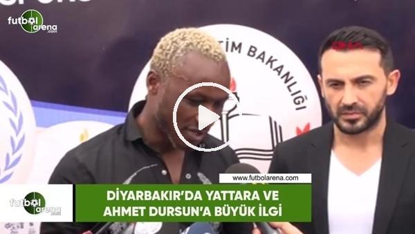 'Diyarbakır'da Ahmet Dursun ve Yattara'ya büyük ilgi