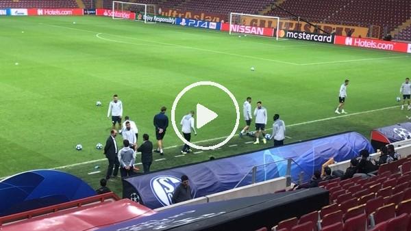 Schalke, Galatasaray maçına hazır