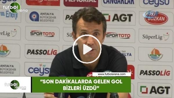 """'Bülent Korkmaz: """"Son dakikalarda gelen gol bizleri üzdü"""""""