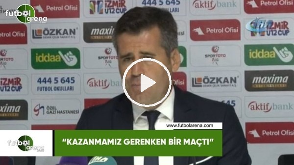 """'Hüseyin Eroğlu: """"Kazanmamız gereken bir maçtı"""""""