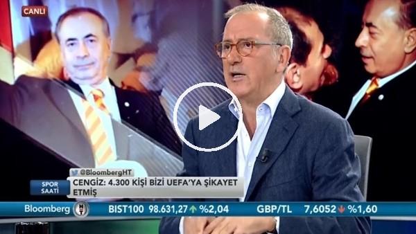 """'Fatih Altaylı: """"UEFA kriterlerine sadece Kasımpaşa ve Göztepe uyuyor"""""""