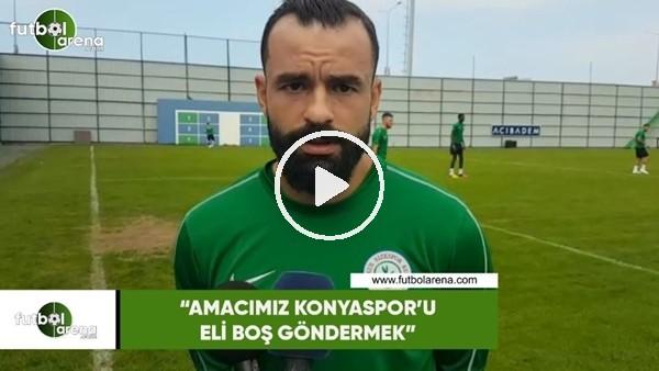 """'Mehmet Uslu: """"Amacımız Konyaspor'u eli boş göndermek"""""""