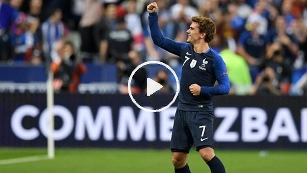 'Fransa 2-1 Almanya (Maç özeti ve golleri)