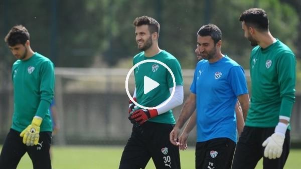 'Bursaspor, Ankaragücü maçı hazırlıklarını sürdürdü
