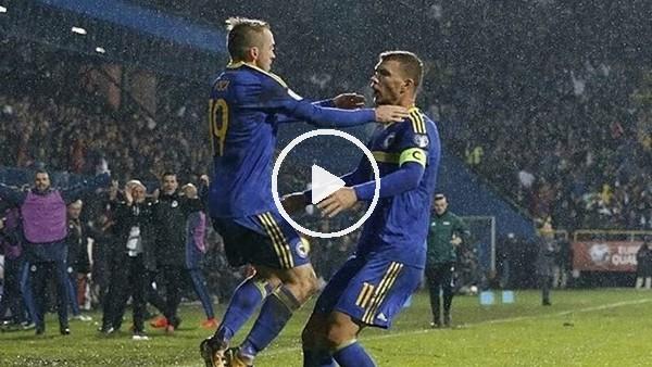 'Dzeko'nun 300. golüne asisti Edin Visca yaptı