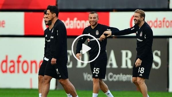 'Beşiktaş, Göztepe maçının hazırlıklarını sürdürdü