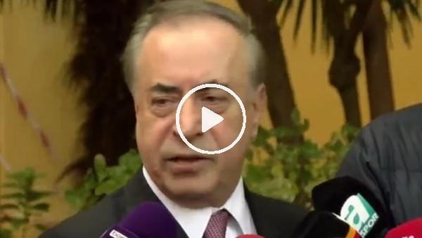 'Mustafa Cengiz'den Gomis ve UEFA konusu hakkında açıklamalar