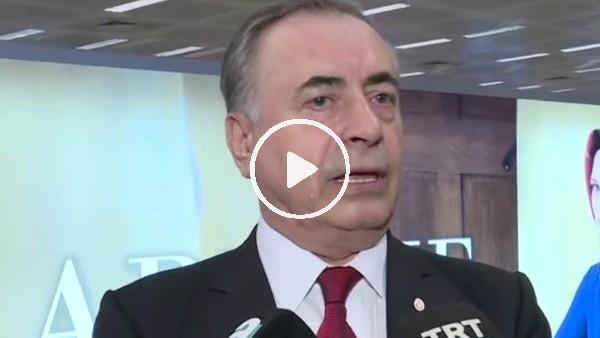 'Mustafa Cengiz, UEFA toplantısı sonrası açıklamalar yaptı