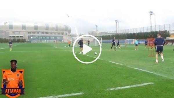 'Başakşehir, Attamah'ın şık golünü paylaştı