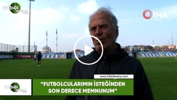 """'Mustafa Denizli: """"Futbolcularımın isteğinden son derece memnunum"""""""