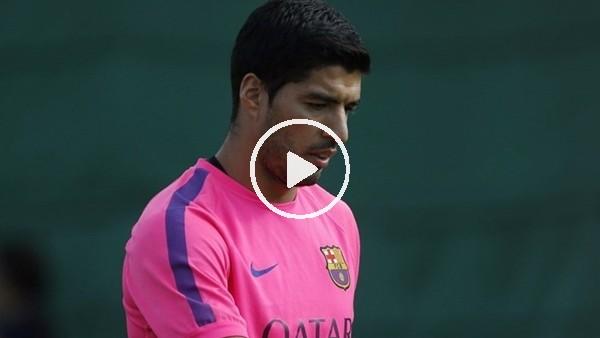 Luis Suarez'den inanılmaz top kontrolü