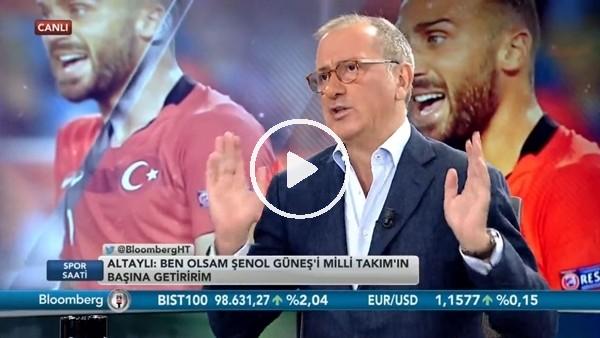 """'Fatih Altaylı: """"Aykut Kocaman'ı milli takımın başına getirsinler"""""""