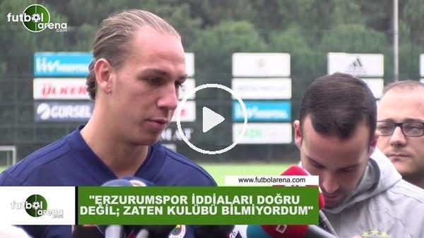 """'Michael Frey: """"Erzurumspor iddiaaları doğru değil, zaten kulübü bilmiyordum"""""""