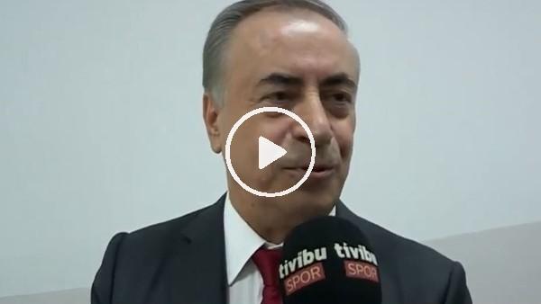 'Mustafa Cengiz, Fatih Terim ile sözleşme uzatılması hakkında konuştu