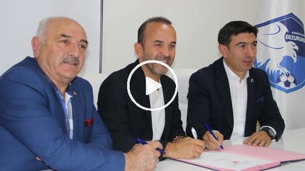 'Mehmet Özdilek, Erzurumspor'a imzayı attı