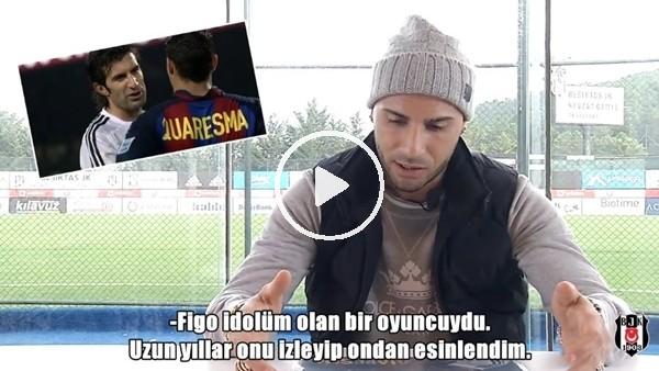 "'Ricardo Quaresma: ""Luis Figo idolümdü"""