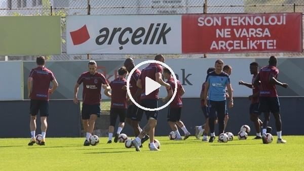 'Trabzonspor, Erzurumspor maçı hazırlıklarını sürdürdü
