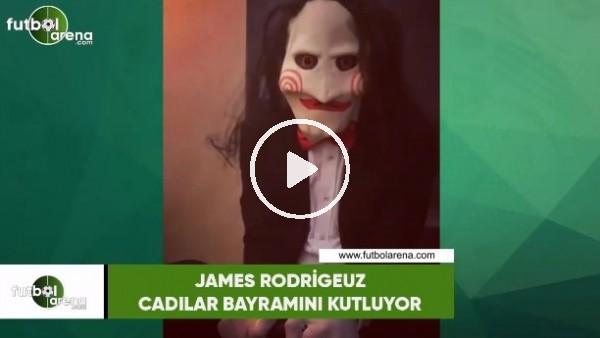 'James Rodriguez, Cadılar Bayramını kutluyor