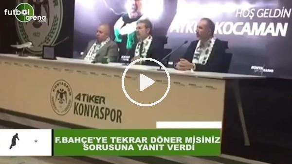 'Aykut Kocaman'dan Fenerbahçe sorusuna yanıt