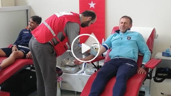 'Başakşehir'den Kızılay'a kan bağışı