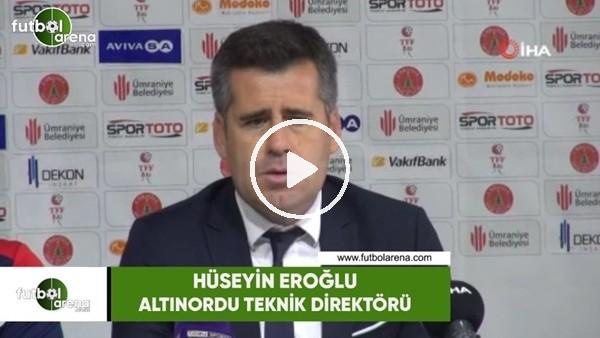 """'Hüseyin Eroğlu: """"Bu deplasmanda 1 puan iyi sonuç"""""""