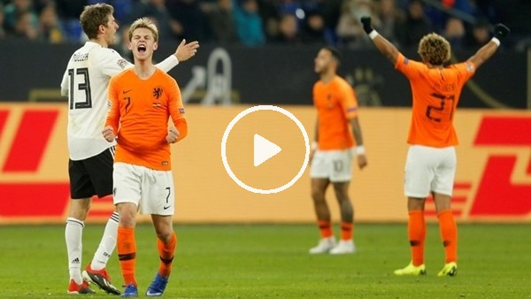 'Almanya 2-2 Hollanda (Maç özeti)