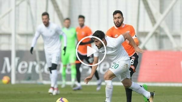 'Konyaspor, Adanaspor ile hazırlık maçı yaptı
