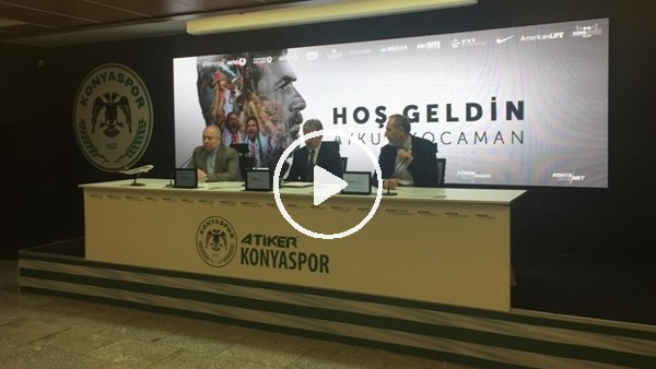 'Aykut Kocaman Konyaspor'da
