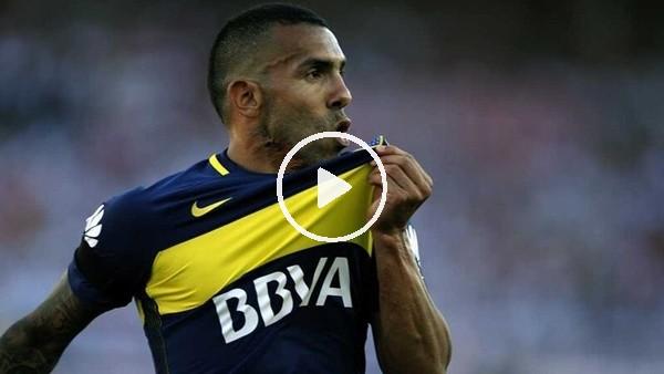 Carlos Tevez coştu, Boca Juniors kazandı...