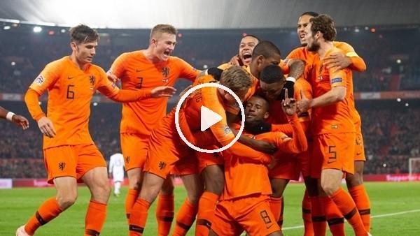 'Hollanda 2-0 Fransa (Maç özeti ve golleri)