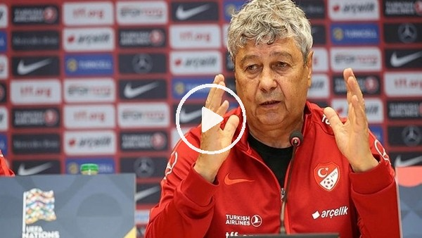'Lucescu, İsveç maçı öncesi basın toplantısı düzenledi