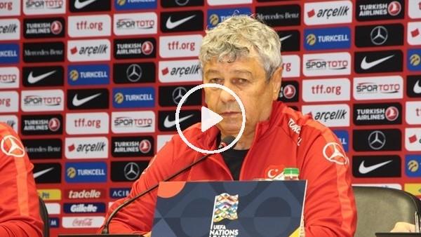 'Lucescu, İsveç maçı sonrası açıklamalarda bulundu