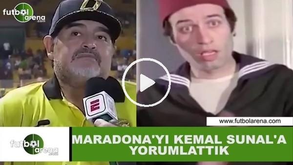 Maradona'yı Kemal Sunal'a yorumlattık