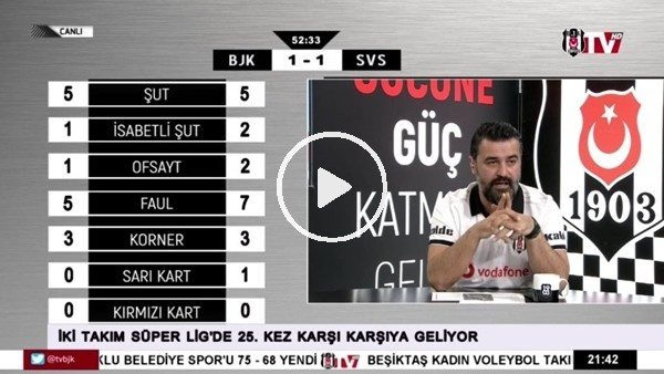 'Emre Kılınç'ın golünde BJK TV spikerleri