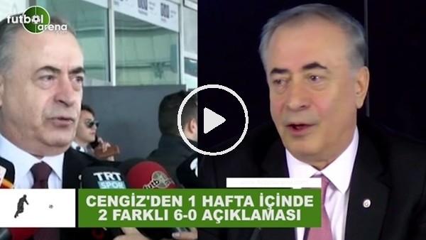 'Mustafa Cengiz'den 1 hafta içinde 2 farklı 6-0 açıklaması