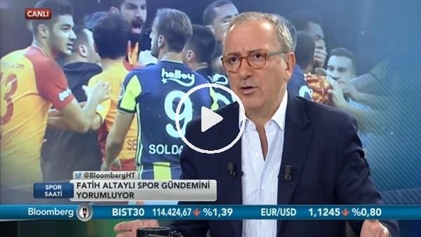 """'Fatih Altaylı: """"Aykut Kocaman ve Cocu teknik direktör değil"""""""