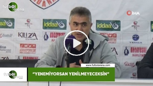 """'Mehmet Altıparmak: """"Yenemiyorsan yenilmeyeceksin"""""""