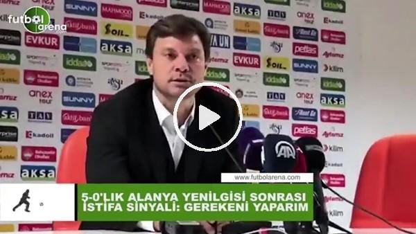 """Ertuğrul Sağlam'dan 5-0'lık yenilgi sonrası istifa sinyali: """"Gerekeni yaparım..."""""""