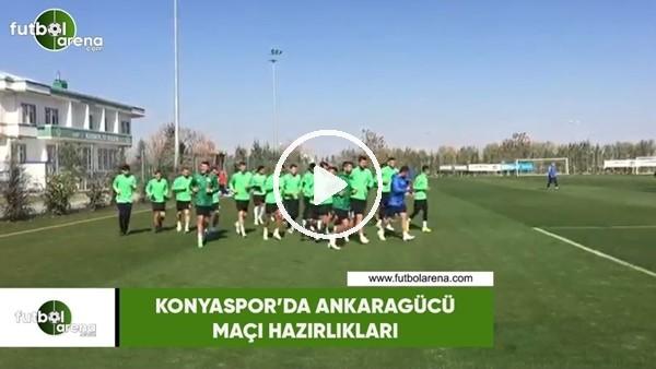 'Konyaspor'da Ankaragücü maçı hazırlıkları