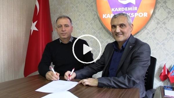 'Karabükspor'da Taner Öcal dönemi başladı