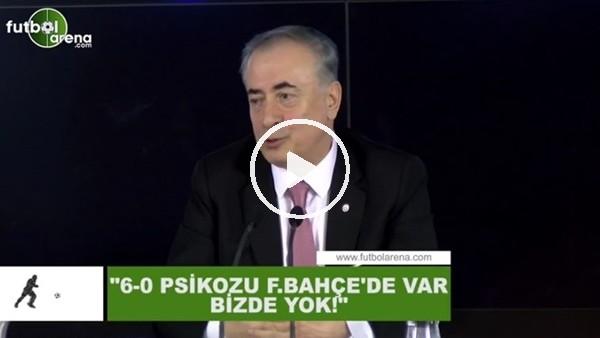 """'Mustafa Cengiz: """"6-0 piskozu Fenerbahçe'de var bizde yok"""""""