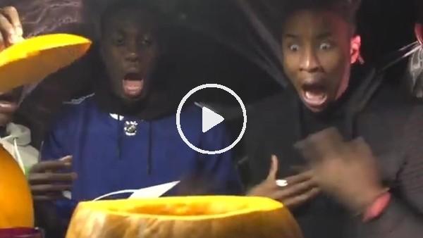 'PSG'den Cadılar Bayramı paylaşımı