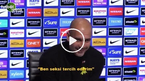 """'Dani Alves'in sözleri üzerine Guardiola: """"Ben açık ara sexi tercih ederim"""""""