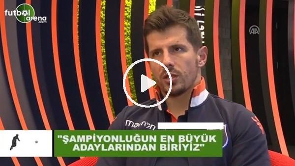 """'Emre Belözoğlu: """"Şampiyonluğun en büyük adaylarından biriyiz"""""""