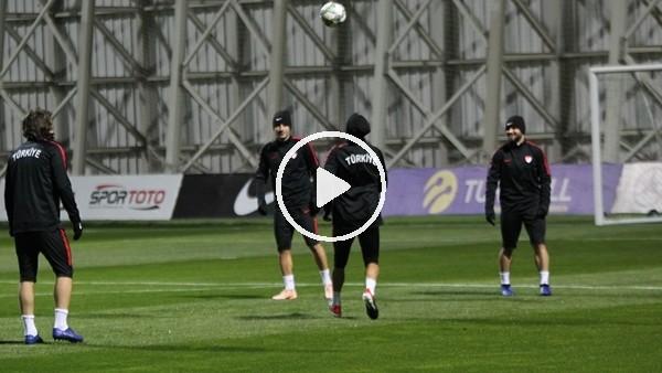 'A Milli Futbol Takımı, İsveç maçına hazır