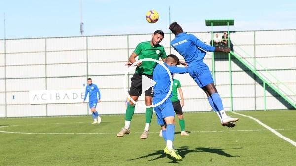 'Çaykur Rizespor,  U21 takımı ile hazırlık maçı yaptı