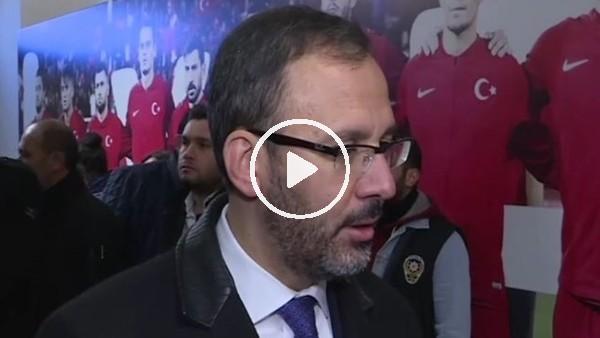 """'Spor Bakanı Mehmet Kasapoğlu: """"Gençler üzerinde yatırıma devam edeceğiz"""""""