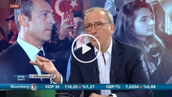 """'Fatih Altaylı: """"Atatürk'e sahip çıkış tavırları için Ali Koç'u kutluyorum"""""""