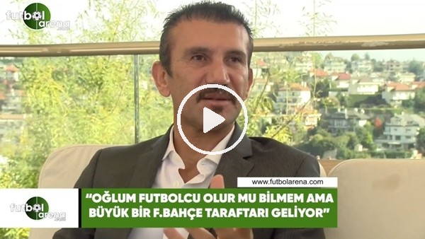 """Rüştü Reçber: """"Oğlum futbolcu olur mu bilmem ama büyük bir Fenerbahçe taraftarı geliyor"""""""