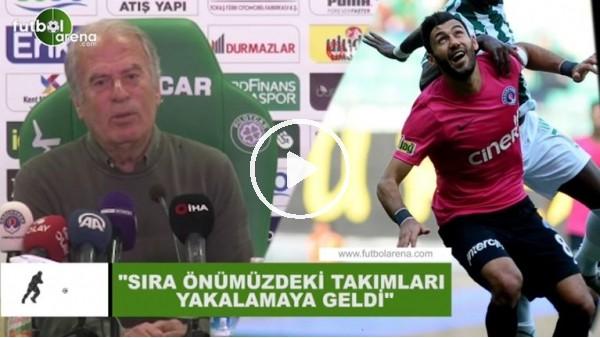 """'Mustafa Denizli: """"Sıra önümüzdeki takımları yakalamaya geldi"""""""